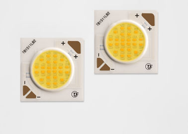 Intelligent 2700-5000k 12w Dimming Cob Led Bahan Dasar Keramik 37.2V
